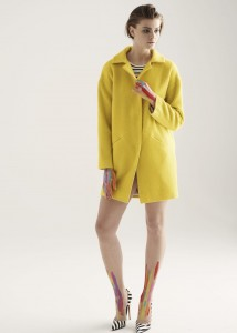 COAT OXANA YELLOW