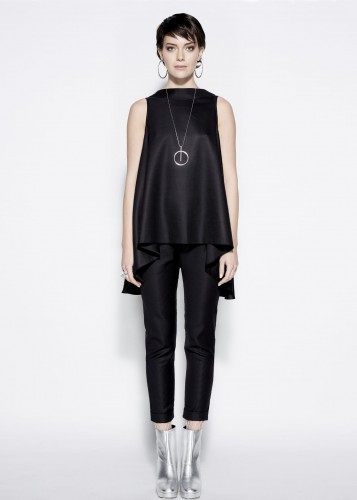 Casual blouse - RITA BLACK