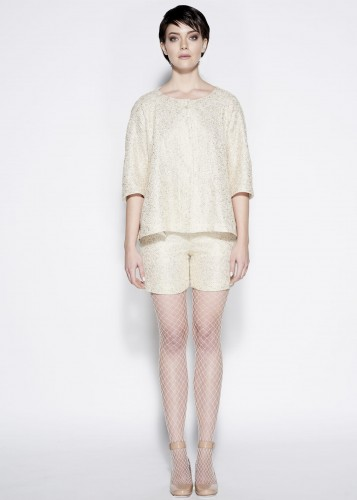 Cotton shorts -  GOLDEN