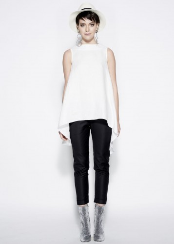 Casual blouse - RITA WHITE