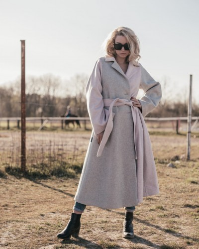 Wool coat -  #MOKOKOLOR SPRING
