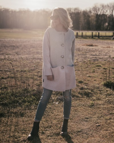 Wool coat -  ORDINARY SPRING