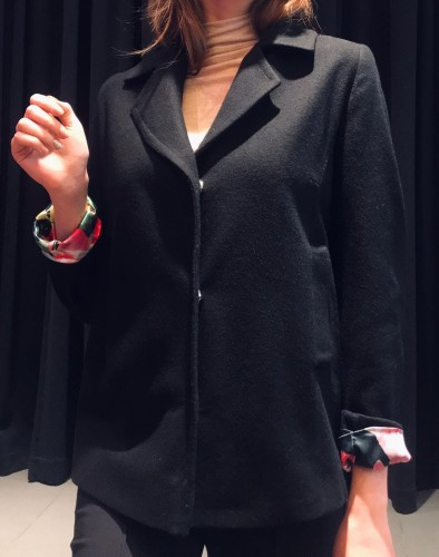 Wool jacket - CHIC BLACK