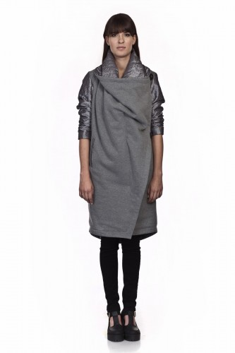 Cotton coat - LUKA SILVER