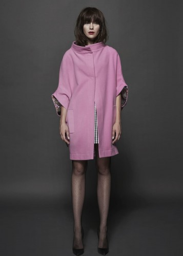 Wool coat -  HARRY PINK